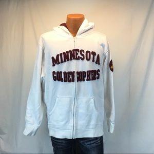 Minnesota Golden Gophers Zip Up Sweatshirt